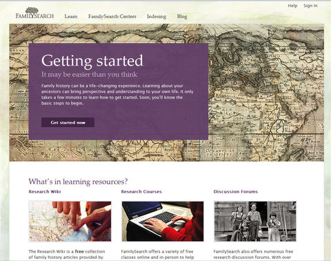 familysearch org – The Passionate Genealogist | By Ruth Blair