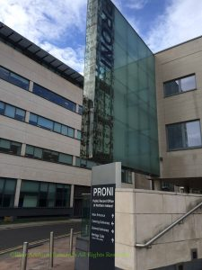 Public Record Office of Northern Ireland - PRONI