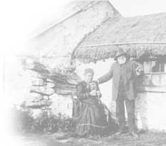 John Sheddens Campbell and his wife Janet Waddell Ross, on vacation in Tayvallich Argyleshire Scotland, July 1910.