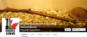 """Dieppe Blue Beach Every Man Remembered"""